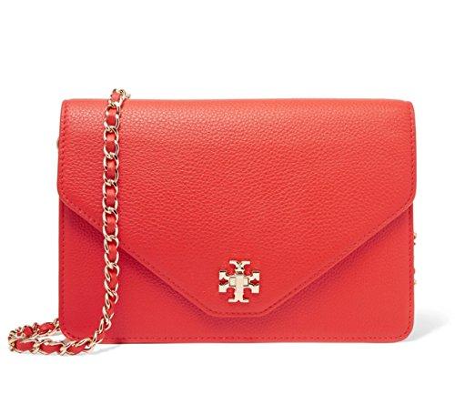 Tory burch Kira clutch in poppy red (Kira Handbag Tory Burch)