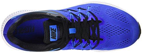 Nike Herren Zoom Winflo 3 Laufschuhe Azul (racer Blu / Blu Glow-nero-bianco)