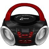 Rádio Boombox Bluetooth, Lenoxx, Preto