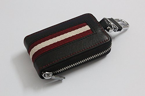 sprated(TM) type-8 Car Smart Key Chain Leather Zipper bag Holder Cover purse bag Case Fob Remote