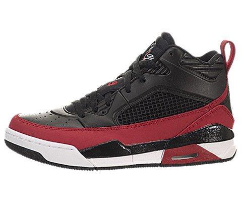 Nike Jordan Kids Jordan Flight 9.5 Bg Black/Gym Red/White Basketball Shoe 4.5 Kids US