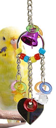 Bonka Bird Toys 1763 Heart Charm Small Bird -