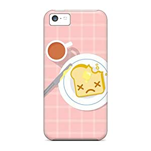Anti-scratch And Shatterproof Sad Toast Phone Cases For Iphone 5c/ High Quality Cases