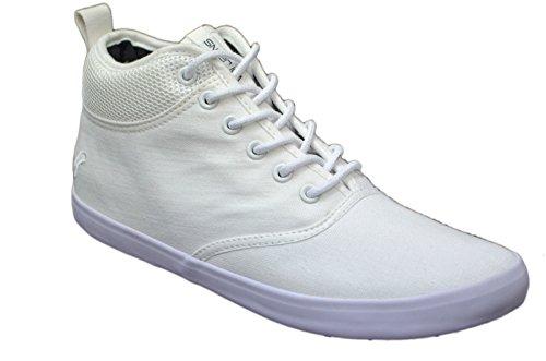 Zapatillas funda Voi Jeans para hombre elegante Hi Top Zapatos Gimnasio Walking bombas zapatillas calzado blanco