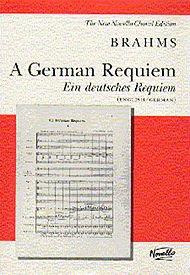 Johannes Brahms: A German Requiem (Vocal Score) by Music Sales America