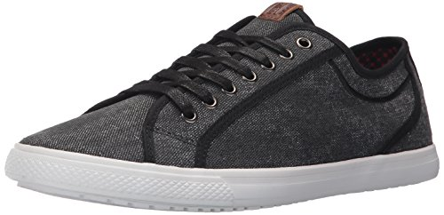 Ben Sherman Mænds Chandler Lo Mode Sneaker Sort 1uF1Sxwm6