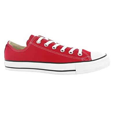 free shipping the sale of shoes hot product Converse All Star Ox Unisex Canvas Style# M9696 (7 M Us, Red)