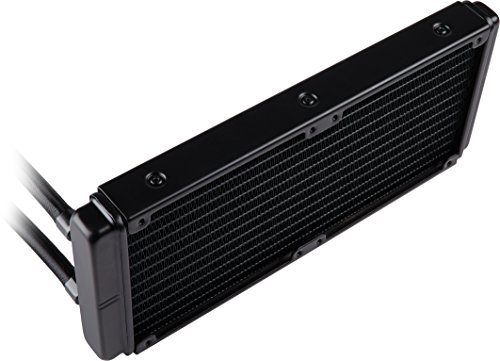 Corsair Hydro H100 x 240 mm Radiator Dual 120 mm PWM Fans Liquid CPU Cooler - Black