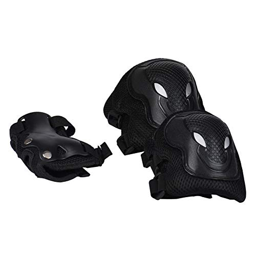 BIKIGHT 6PCS/Set Outdoor Cycling Protective Gear Sports Kneepad Elbow Knee Wrist Safety Gear