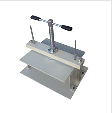 Currency Press Bookbinder for Financial File Express Order Book Hand Wheel Flattening Machine Flat Paper Press Shaping Machine Nipping Machine Press Screw Bookbinding A4 Manual Paper Press