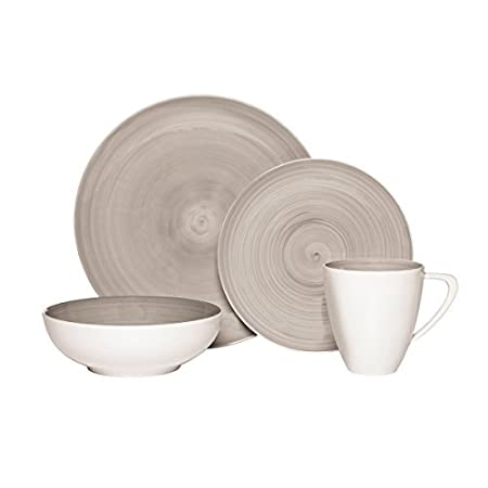 Mikasa 4 Piece Place Setting Dinnerware Set Savona Grey by Mikasa  sc 1 st  Amazon UK & Mikasa 4 Piece Place Setting Dinnerware Set Savona Grey by Mikasa ...