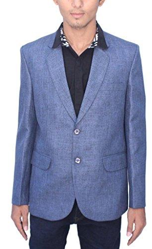 Romano - Blazer - Homme Bleu Bleu