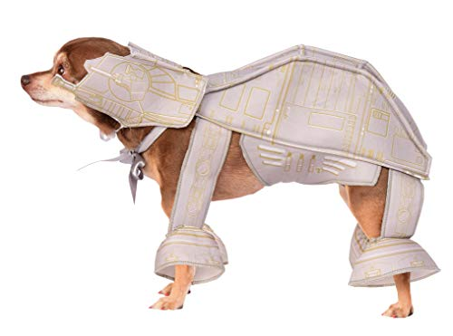 Italian Greyhound Halloween Costume Star Wars (Star Wars Pet Costume, X-Large, At-At Imperial)