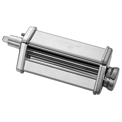 Kitchen Pasta Roller Attachment for Kitchenaid Stand Mixer,S
