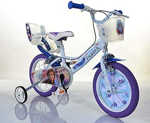 Bicicleta infantil, Frozen, Reina de Hielo, Disney, licencia ...