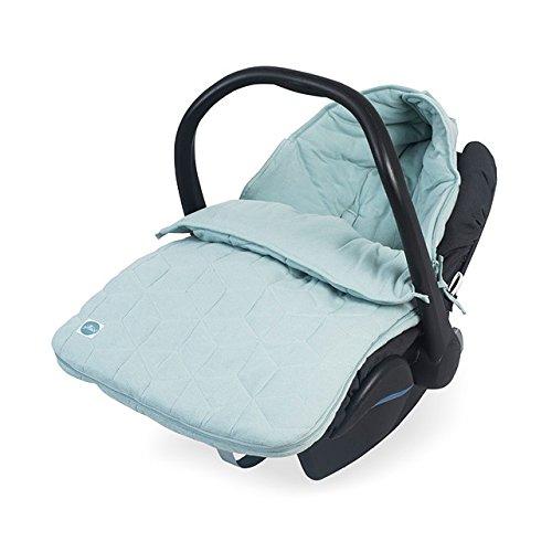 Jollein 025-811-65147 Fuß sack fü r Babyschale Graphic stone green 025-811-65149