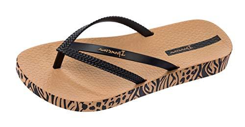 Ipanema Women's Bossa Soft Plastic Slip On Flip Flop Sand-Sand -8 -