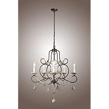 french country chandelier australia wood canada lights iron frame beads chateau