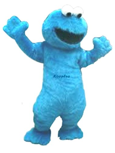 ... Adult Cookie Monster Costume ...  sc 1 st  Best Costumes for Halloween & Sesame Street Cookie Monster Halloween Costumes