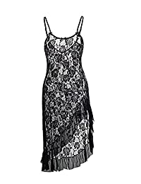 YeeHoo Women Sexy Lingerie Dress G-String Perspective Temptation