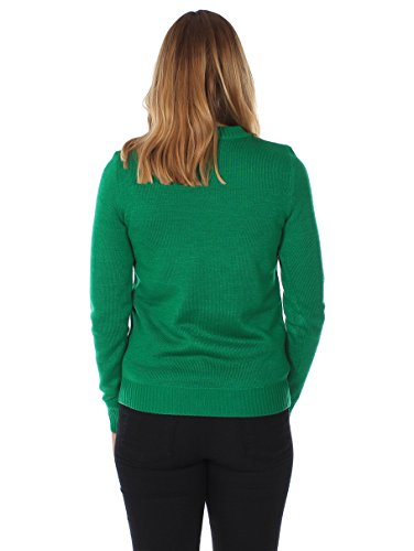 d9733a1b64f Women s Ugly Christmas Sweater – Happy Birthday Jesus Sweater Green Size M