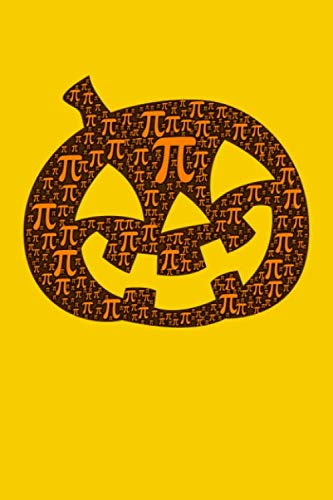 Jack O' Lantern Pi: Graph Notebook | Funny Math Humor Fibonacci Pi Day Golden Ratio Quad Ruled 5 Squares Per Inch, Notebooks For Students (6