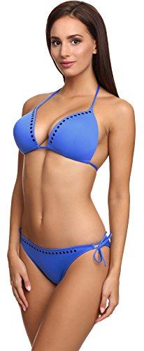 SHE Mujer Bikini Set Trish Azul (110)