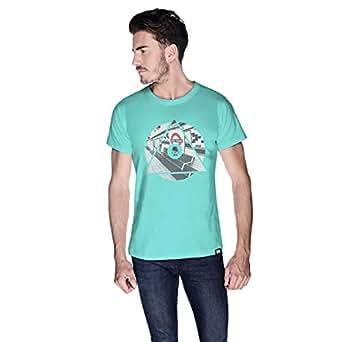 Creo London T-Shirt For Men - Xl, Green