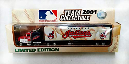 (Cleveland Indians 2001 Limited Edition Tractor Trailer Die Cast Collectible)