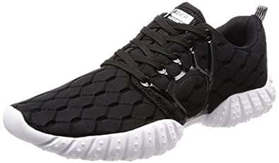 Aleader Men's Mesh Cross-traning Running Shoes Black 7 D(M) US