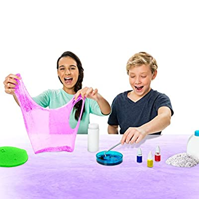 Kinetic Sand - Sand Slime Lab, Slime Activity Kit for Ages 8 and Up: Toys & Games