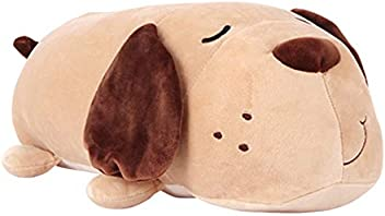 Miniso Puppy Dog Stuffed Animals Soft Plush Dog Pillow Plush Toy for Girls Kids, 15