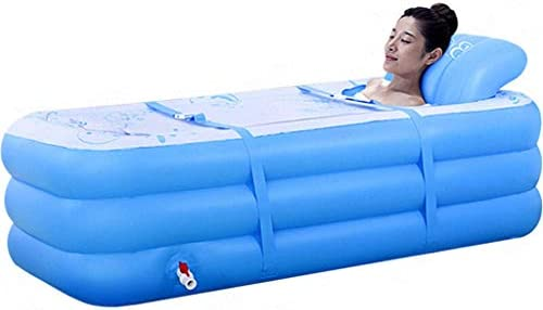 子供のバスタブ折りたたみ世帯の大人インフレータブル浴槽の肥厚風呂バレルは座ると大きなバスタブが横たわることができます,B