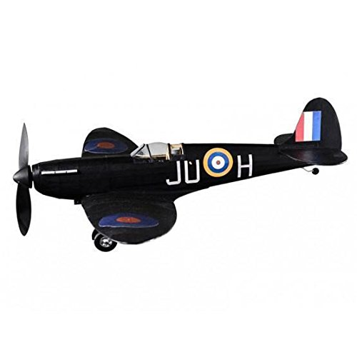 Supermarine Spitfire Nightfighter complete vintage model rubber-powered balsa wood aircraft kit that really flies! (Balsa Wood Aircraft)