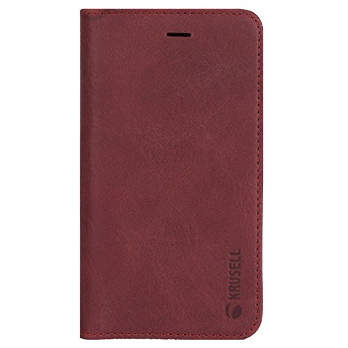 Krusell Iphone Case - Krusell Folio Case for Apple iPhone X - Vintage Red