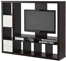 IKEA LAPPLAND - Unidad de almacenamiento para TV, color negro y marrón (72 x 57 7/8, 14210.26175.128): Amazon.es: Juguetes y juegos