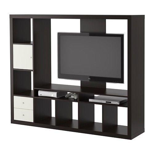 amazon com ikea lappland tv storage unit black brown 72x57 7 8 14210 26175 128 kitchen dining
