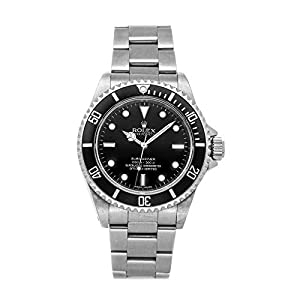 Best Epic Trends 41D8h2SDsDL._SS300_ Rolex Submariner Mechanical (Automatic) Black Dial Mens Watch 14060 (Certified Pre-Owned)