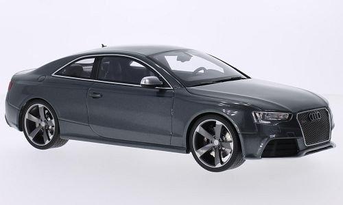 Audi Diecast Cars (Audi RS5, metallic-grey, Model Car, Ready-made, GT spirit 1:18)