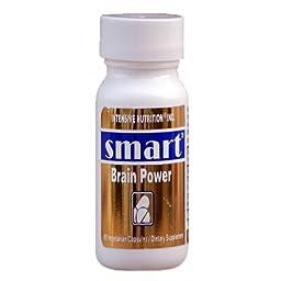 Smart - Brain Power/Memory Enhancer (50 mg DMAE, 10 mg R-Lipoic Aicid, 10 mg Vinpocetine,10 mg N-Acetyl-Carnitine/capsule)