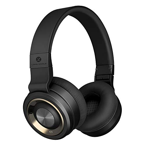 LINPA M1 Bluetooth Headphones Over Ear, Hi-Fi Stereo Wireless Headset, 30Hrs Playtime, Soft Memory-Protein Earmuffs, w/Built-in Mic and Wired Mode for PC/Cell Phones/TV by L LINPA WORLD