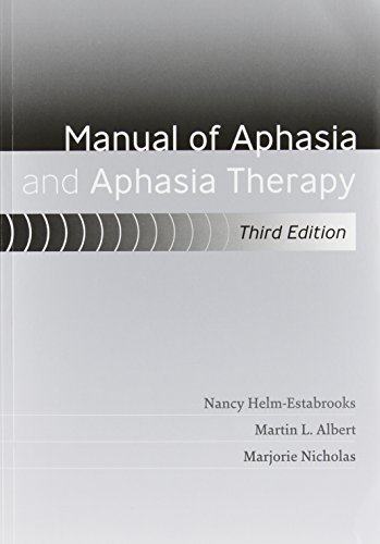 1416405496 - Manual of Aphasia and Aphasia Therapy [With DVD ROM]