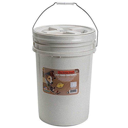 Gamma2 Vittles Vault 20 lb Airtight Bucket Container for Food Storage, Food Grade and BPA Free