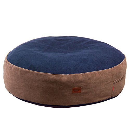 CordaRoy's 40-Inch Forever Pet Bed, As Seen on Shark Tank – Indigo, Large
