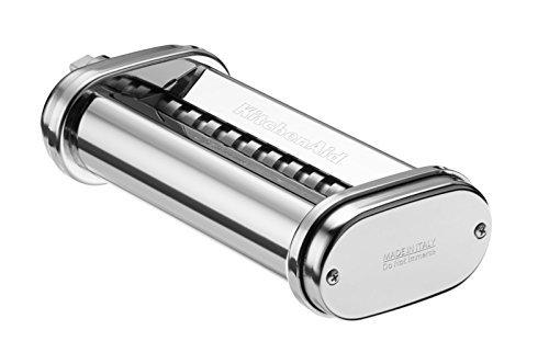 Kitchenaid 5KSMPRA Optionales Zubehör, für alle KitchenAid Dreiteiliger Nudelvorsatz Küchenmaschine
