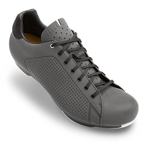 Giro–República LX zapatos ciclismo Touring piel Cleat 2perno, Dark Shadow reflectante Dark Shadow Reflective