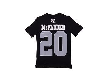 Darren McFadden Oakland Raiders Jersey nombre y número camiseta, Atlético, S