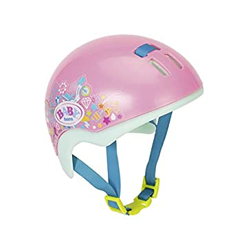 Zapf Creation 827215 Baby Born Play&Fun Fahrradhelm Helm rosa Aufblastiere