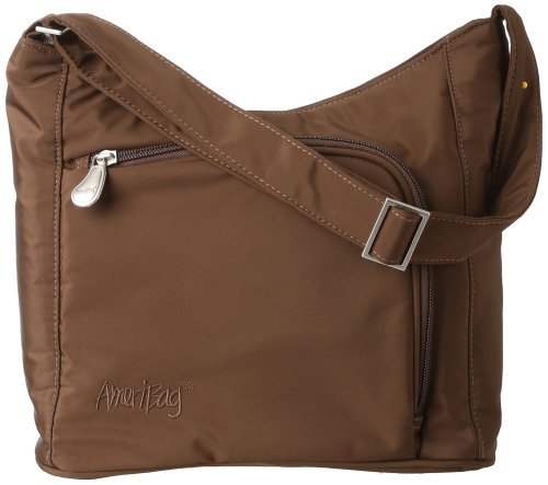 AmeriBag Catskill Willow Shoulder Bag,Chocolate,one size