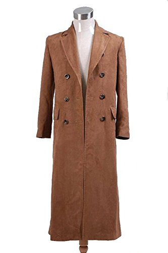 CosDaddy Brown Long Trench Coat (S-Man) ()